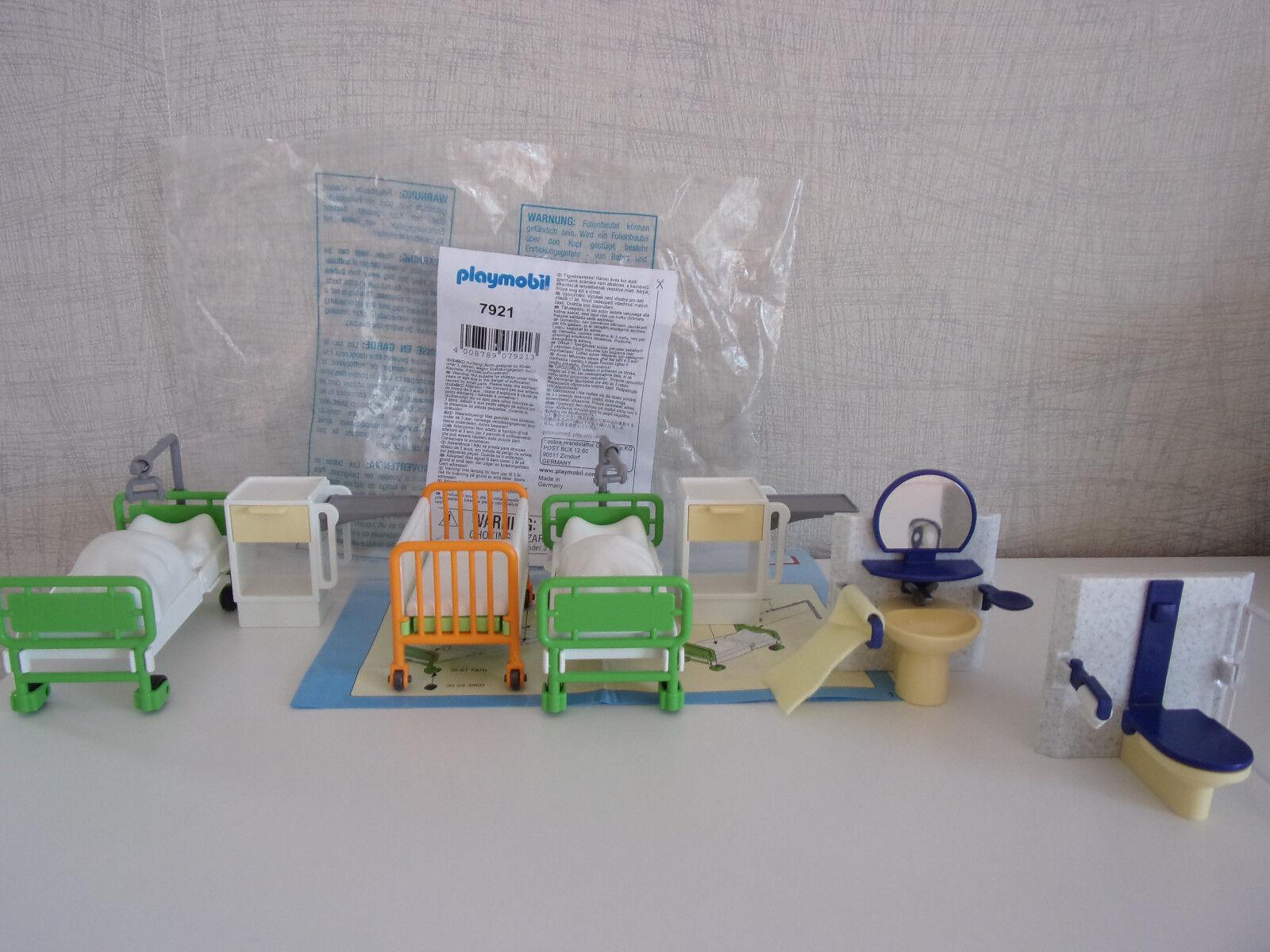 Playmobil Ergänzungen & accessoire - 7921 CHAMBRE DE MALADE - Neuf