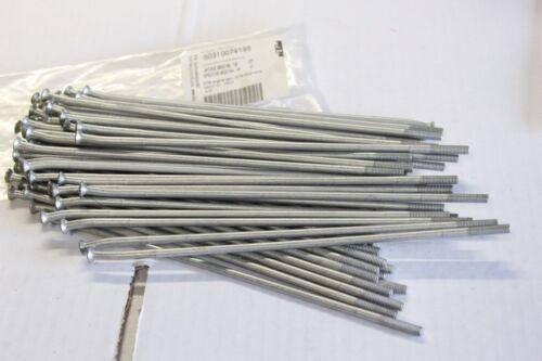 """NEUF M5 X 195-18/"""" Origine KTM 1X Rayons Ref 50310074195 M5X195-18/"""" 07"""