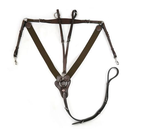 John Whitaker Eastwood V-Check Breastplate With Martingale Attachment