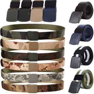 Men-039-s-cinturon-tactico-militar-Combat-Train-Policia-Ejercito-Belt-Outdoor-2019