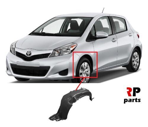 Pour Toyota Yaris 2011-2014 NEUF Front Fender Mud Guard Splash Arc gauche