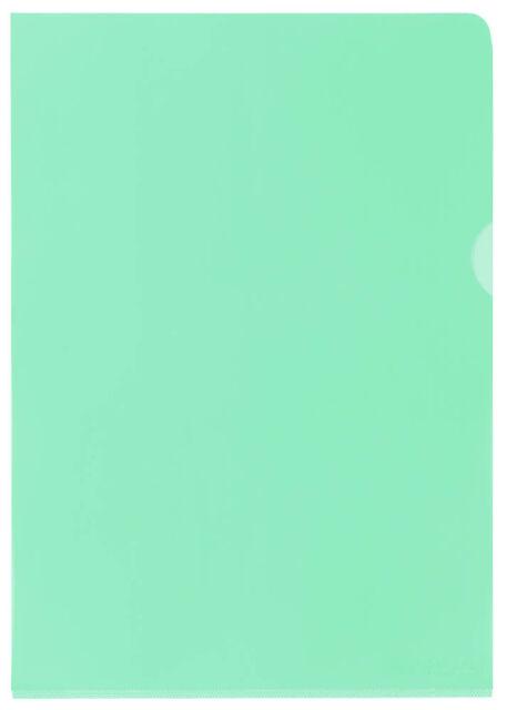 ELBA Sichthüllen A4 PVC grün glatt - 25er Pack