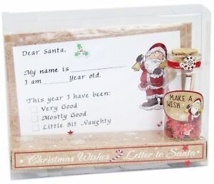 Christmas letter to santa and make a wish jar gift set 5033849045500 image is loading christmas letter to santa and make a wish spiritdancerdesigns Images