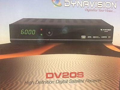 Serio Dynavision Dv20s Fta Hd + Gratis Darkgold Lnb 0.1db- Garantire Un Aspetto Simile Al Nuovo In Modo Indefinibile