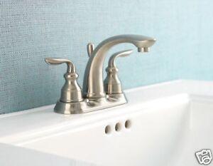 Price Pfister 048-LT0K Sedona Bathroom Faucet Brushed Nickel