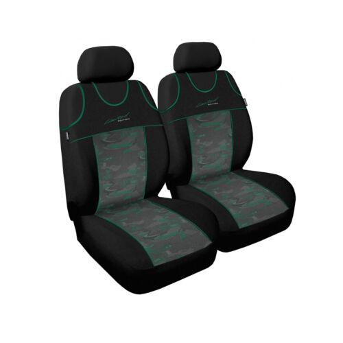 Opel Corsa funda del asiento verde Front auto fundas para asientos ya referencia ya referencias