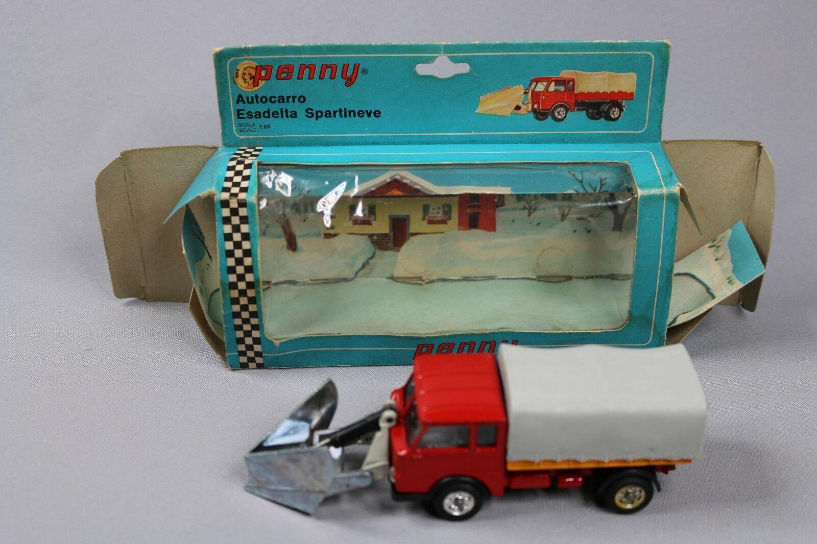 ZC1116 Penny 0 118 Camion Miniature 1 66 Esadelta Autocarro Spartineve