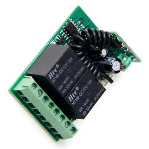 2Button-315-433MHZ-Wireless-Module-Receiver-Controller-F-Relay-Remote-Switch-DE