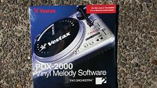 Vestax PDX2000 Giradiscos de vinilo melodía software no 2