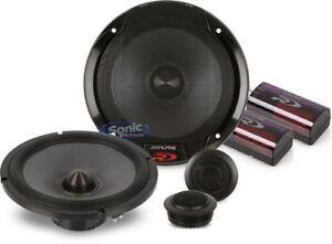 New Alpine Spr 60c Type R 6 5 Inch Component Car Stereo Speaker