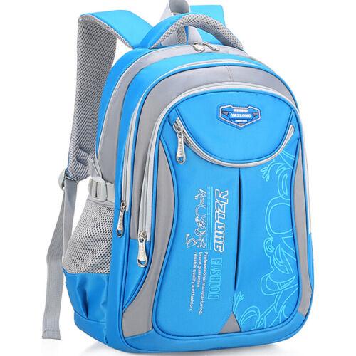 Children Student Backpack Waterproof School Rucksack Boy Girl Shoulder Comfy Bag