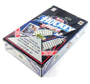 1990-91-Upper-Deck-039-High-Number-039-Hockey-Box-36-Pack-English-Box-Sealed