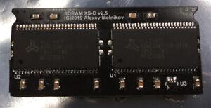 Mister FPGA black SD Board XSD v2.5 128MB, Neo Geo, Amiga,CPS1-2,Arcade,SNES,NES