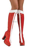 Wonder Woman Boots Fancy Dress Costume Shoes Superhero Ladies Womens 884019