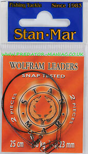 Pike-traces-Stan-mar-tungsten-wire-wolfram-leaders-wire-lure-predator-fishing