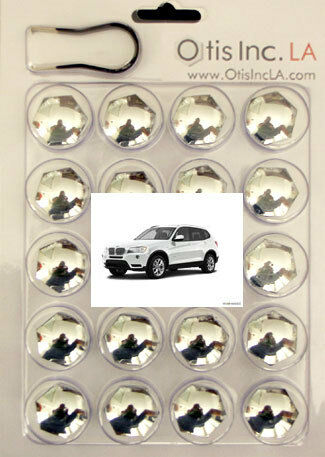99-9712-C-X3-Series CHROME lug bolt covers BMW X3 Series FREE SHIPPING in U.S.A.