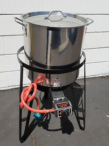 "27/"" Tall HD Outdoor Propane Gas Burner Stand Rack BBQ Brand NEW"