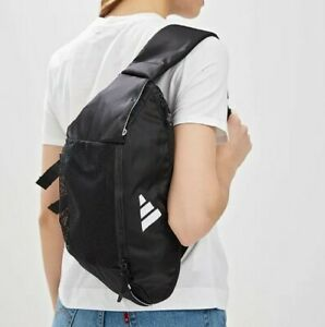Details about Adidas Crossbody Bag Parkhood Waist Bum Fanny Shoulder Women Men DS8861 Black