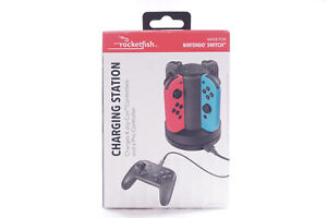 Rocketfish™ Joy-Con Charge Dock Station For Nintendo Switch   Charges 4 Joy-cons