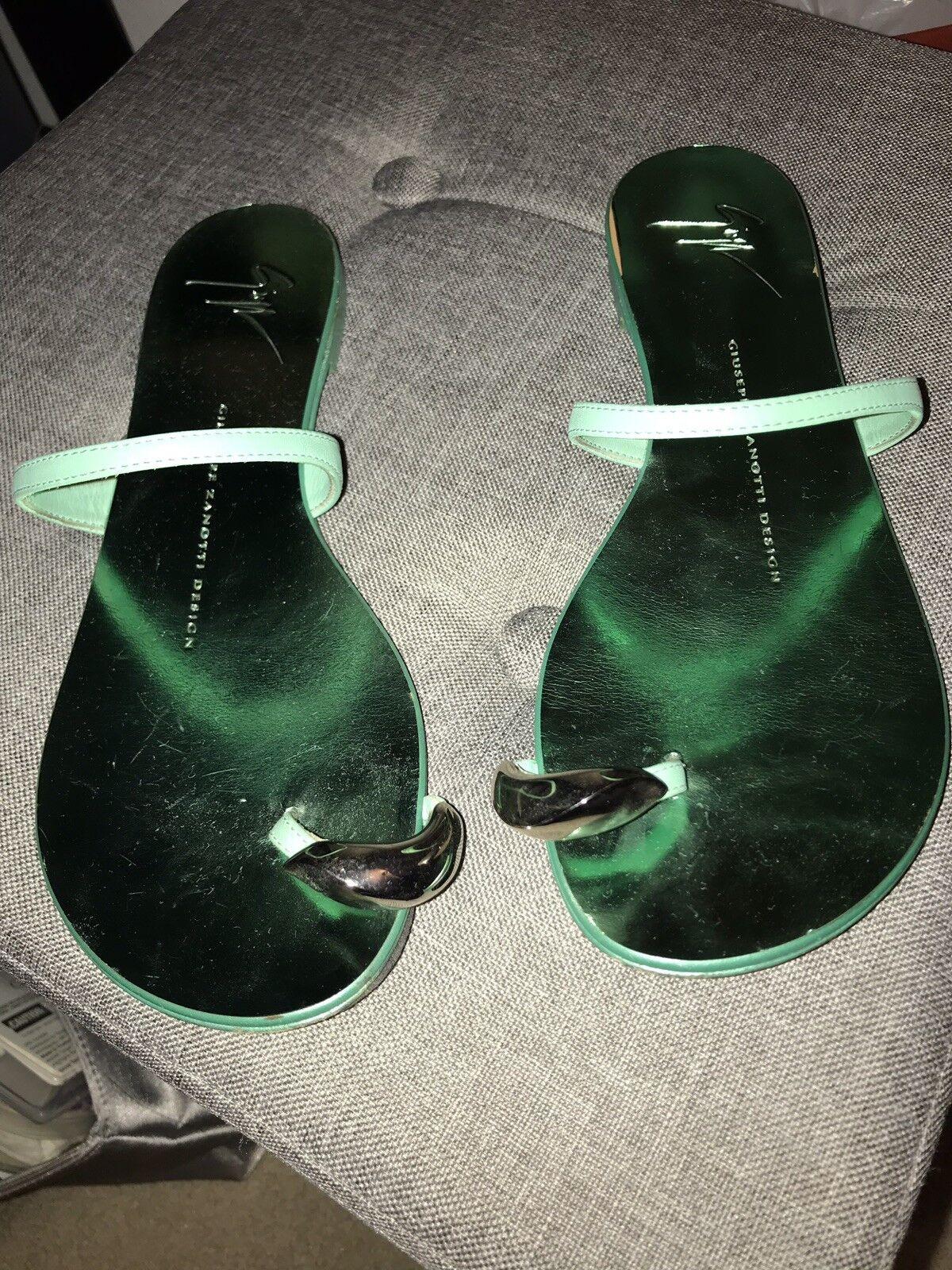 Authentic Guiseppe Zanotti Toe Ring Sandal Slipper. Dimensione Dimensione Dimensione 36 6 f66bdc