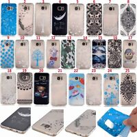 Ultra Thin Case Cover Pattern Soft TPU Silicone For Samsung S7/ Edge &iPhone SE
