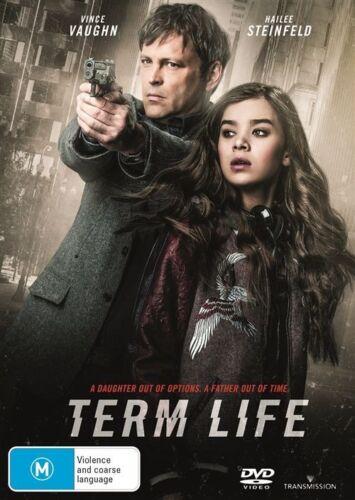 1 of 1 - Term Life (Dvd) Crime Drama Thriller Vince Vaughn, Bill Paxton, Hailee Steinfeld