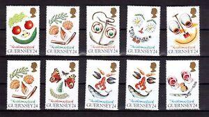 GUERNSEY-1995-Greetings-set-MUH