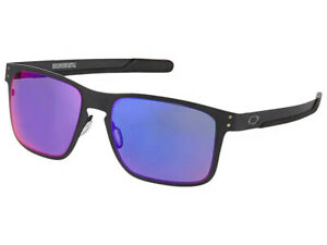 35db50a1031 Image is loading Oakley-Holbrook-Metal-Sunglasses-OO4123-0255-Matte-Black-