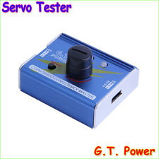 G.T. Power 3CH ESC Servo Tester CCPM Consistency Master Checker Tester