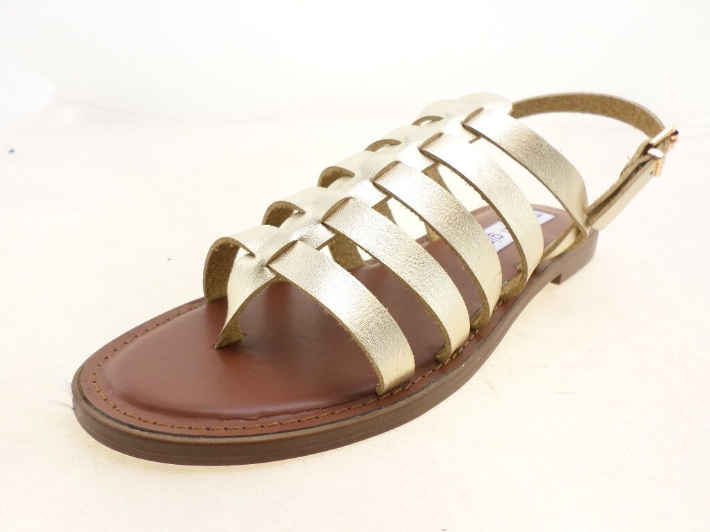 Madden Girl Size Womens Strapper Sandals-Style 00132197-Gold Size Girl 7M 49aef5