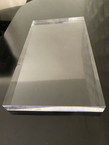 "base 1""x7""x13"" Details about  /Elegant Acrylic//Plexiglass block Display"