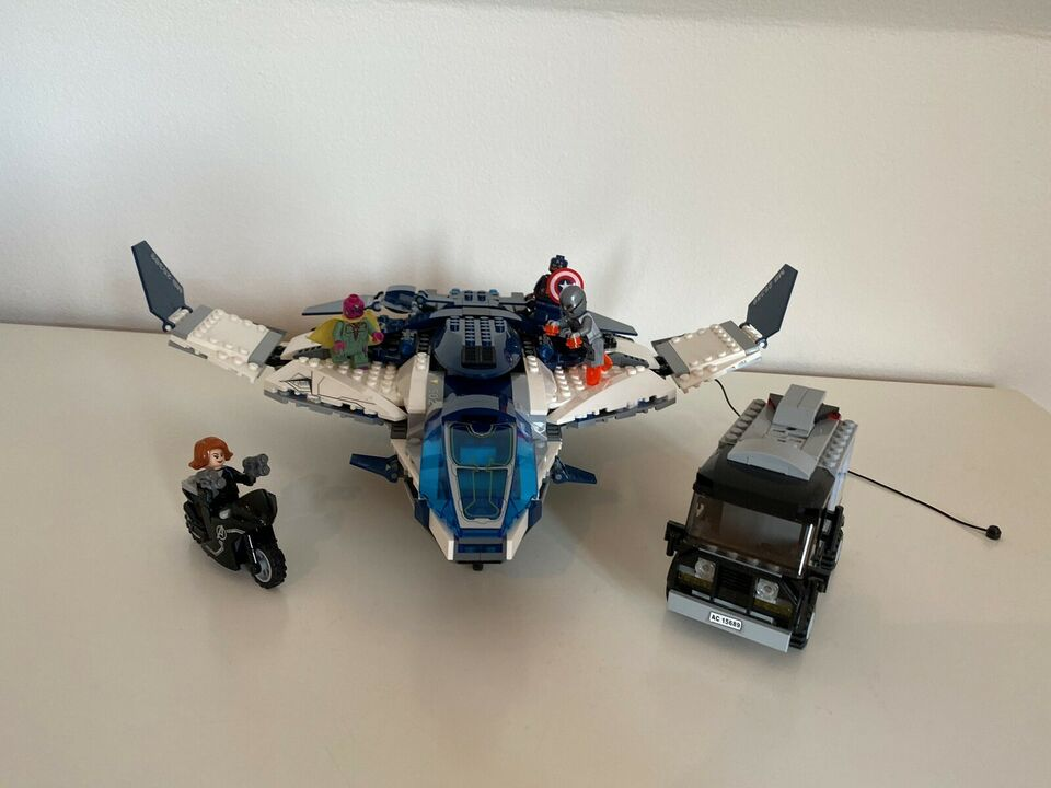 Lego Super heroes, Avengers Quinjet City Chase 76032