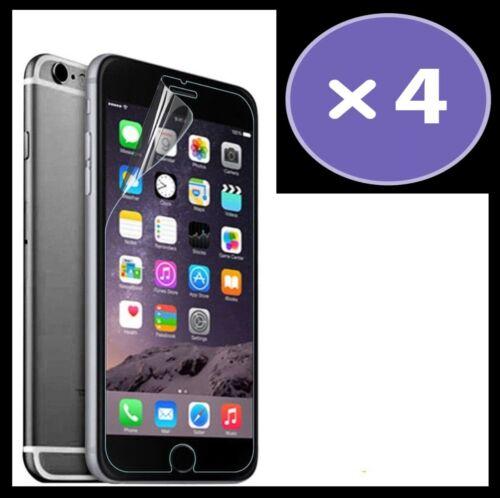 Claro Plástico 4x Apple iPhone 7 Película Protectora De Pantalla 2D Entrega Rápida