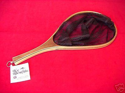 Wood Landing Net Custom Custom Net Grade Fly Fishing GREAT NEW 2b23e7