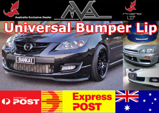 Ford Fiesta WQ WS WT WZ Genuine RHINOLIP Universal Front Bumper Lip Kit Spoiler