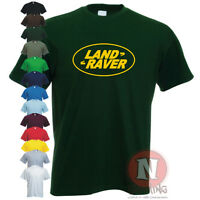 LAND RAVER funny spoof dance club rave Dj festival Landy off road 4wd T-shirt