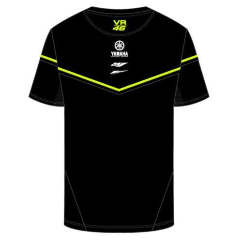 Vr46 Official Valentino Rossi 2018 BLACK YAMAHA T /'shirt-ykmts 315504