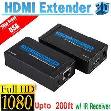 HDMI Extender over Ethernet 100M LAN RJ45 CAT5 CAT6 For 1080P full HD DVD PS3 HL