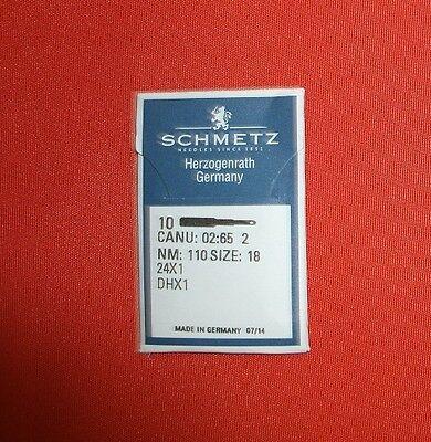 Nm110   # Schmetz-Flachkolbennadel System 24X1