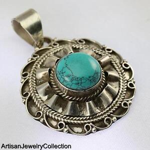 MULTIGEM MARCASITE PENDANT 925 STERLING SILVER ARTISAN ...  |Newest Silver Artisan Jewelry