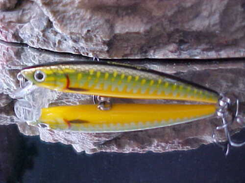 """Challenger 3 1//2/"""" Junior Minnow JL120F-C30 in /""""GOBY/""""  for Bass//Walleye//Trout"""
