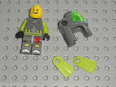 LEGO ATLANTIS Schatzschlüssel Ring Key transparent grün 8059 8075 8076 8078