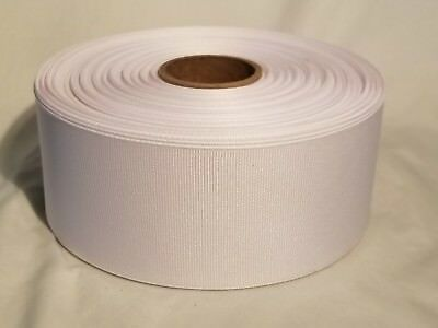 """White Grosgrain Ribbon ~Offray~ 50 yards ~ New ~ 2.25/"""" inch ~ 2 1//4 inches"""