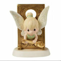 Disney Tinkerbell You Hold Key To My Heart Precious Moments Figurine In Box