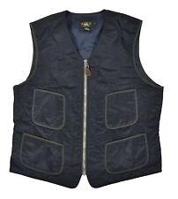 Polo Ralph Lauren RRL Navy Quilted Vest Jacket XL New $390