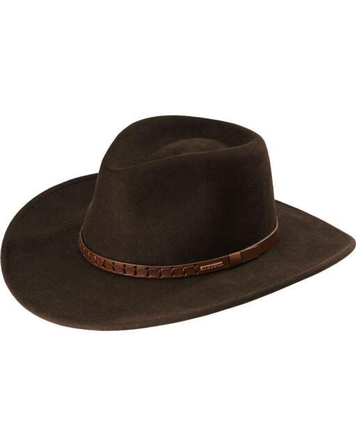 0951257e732 Stetson Sturgis Pinchfront Crushable Wool Felt Hat - TWSTGS-813008 Cordova