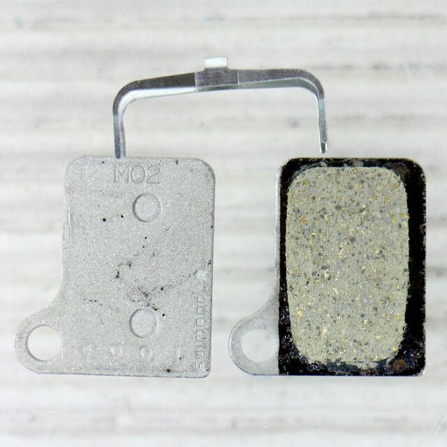 SHIMANO M02 RESIN BREMSBELAG für Deore BR-M555 Nexave 901 Scheibenbremse