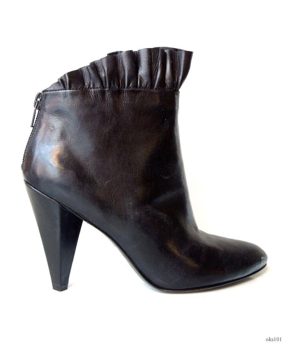 Nouveau  590 Marc Jacobs noir à volants Top Chaussures Bottines-magnifique
