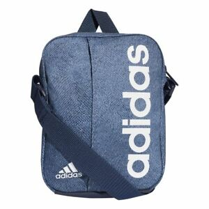 Image is loading Adidas-LINEAR-PERFORMANCE-Messenger-Shoulder -Small-Mini-Crossbody- 4d345b7ab4e0b