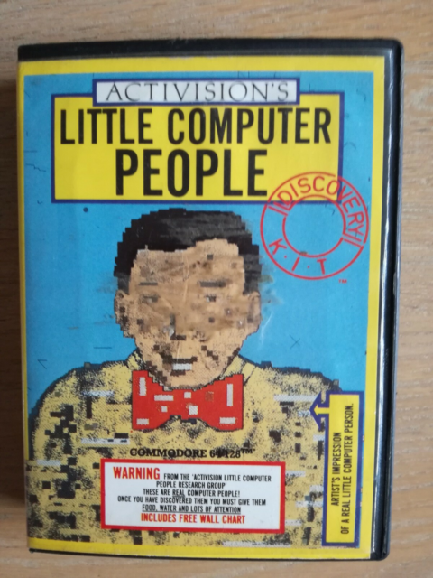 Little Computer People, Commodore 64, Little Computer…